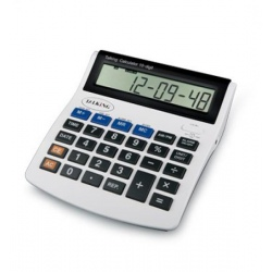 Calculatrice parlante avec oreillettes