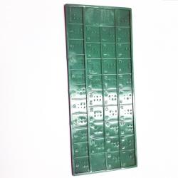 Cadre d'apprentissage l'alphabet en braille